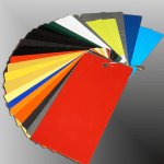 Powder Coating Color samples